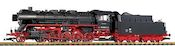 German Steam Locomotive BR 50 of the DR (Sound)
