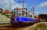 German Glass Train Rail Car of the DB (Sound)