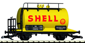 DB III Shell 2-Axle Tank Car, Yellow