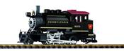 USA Steam Locomotive 2-6-0 Saddletank of the PRR