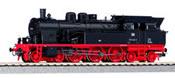 German Steam locomotive BR 078 of the DB (Sound)