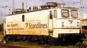 Electric Locomotive Class 109 Scandlines