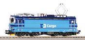 Czech Electric Locomotive BR 240 of the CD Cargo (Sound)