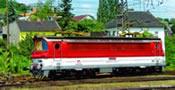 Slovakian Electric Locomotive BR 240 ZSR V of the ZSR