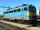 Hungarian Electric Locomotive BR V 43 of the MAV