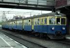 Polish Electric multiple unit EN 57 of the PKP (Sound)