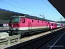 Austrian Electric Locomotive Rh 1144 of the OBB (Sound)