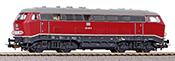 German Diesel locomotive BR 216 of the DB (DCC Sound Decoder)