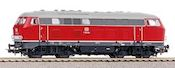 German Diesel Locomotive BR V 160 of the DB (Sound)