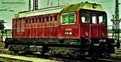 German Diesel Locmotive class V 75 of the DR (Sound)