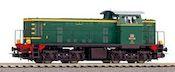 Italian Diesel locomotive BR D.141 of the FS