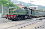 Italian Diesel Locomotive D.141 1023 of the FS