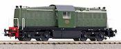 Dutch Diesel Locomotive Rh 2000 of the NS (Sound)