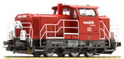 German Diesel Locomotive Vossloh G6 DB Cargo of DB AG