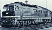 German Diesel Locomotive BR 142 of the DR (Sound)
