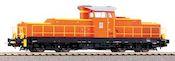 Italian Diesel Locomotive D.145 of the FS (Sound)