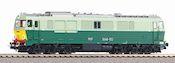 Polish Diesel Locomotive SU46 of the PKP