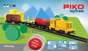 MyTrain Freight Train Starter Set with Diesel Locomotive