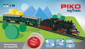 MyTrain Passenger Train Starter Set with Steam Locomotive