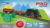 MyTrain Freight Train Starter Set with Steam Locomotive