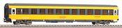 2nd class Eurofima express train wagon of the Regiojet