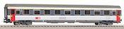 1st class express train passenger car Eurofima