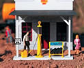 Shell Gas Pump & Accessories