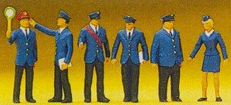 Preiser 10011 - Railway personnel DB