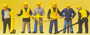 Preiser 10035 - Sewer/road const crew  6/