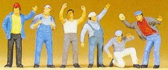 Preiser 10036 - Truck drivers standing 6/