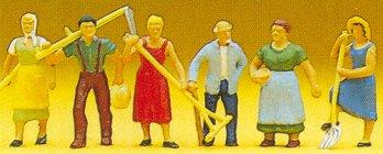 Preiser 10040 - Farm workrs           6/