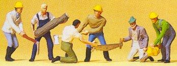Preiser 10042 - Lumber jacks          6/