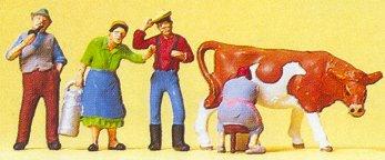 Preiser 10044 - On the farm