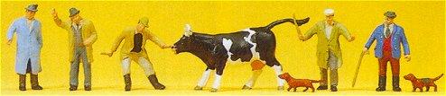 Preiser 10048 - Cattle Traders
