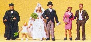 Preiser 10057 - Wedding group-Protestant
