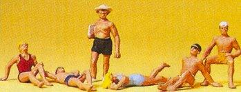 Preiser 10071 - Bathers reclining      6/