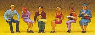 Preiser 10095 - Seated people #1       6/
