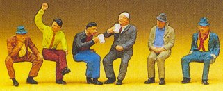 Preiser 10097 - Seated people #3       6/