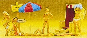 Preiser 10107 - Nude sun bathers       6/