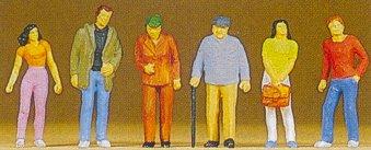 Preiser 10117 - Standing pedestrians   6/