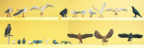 Preiser 10169 - Assorted Birds