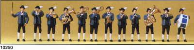 Preiser 10250 - Bavarian Band