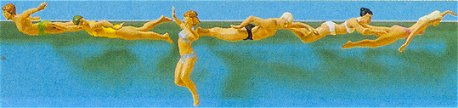 Preiser 10306 - Swimming people