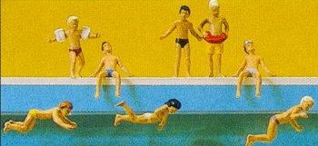 Preiser 10307 - Children at the pool