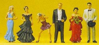 Preiser 10331 - Wedding guests