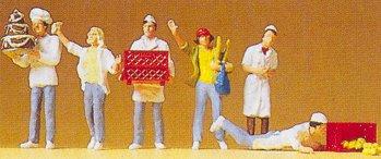 Preiser 10377 - At the bakery