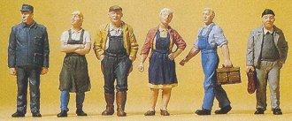 Preiser 10472 - Village Workers 6/