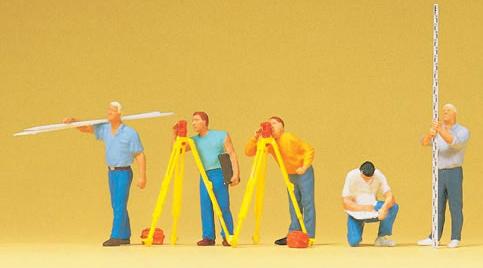 Preiser 10512 - Surveyors