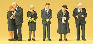 Preiser 10521 - Funeral Attendants