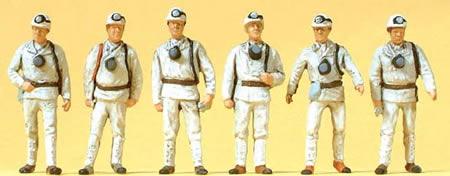 Preiser 10555 - Miners 6/